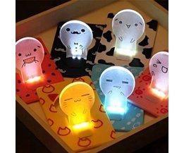 LED-Karte In Verschiedenen Farben