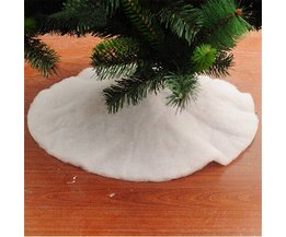 Weiß Weihnachtsbaum-Rock In Zwei Größen