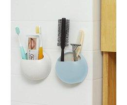 Zahnbürstenhalter Wand