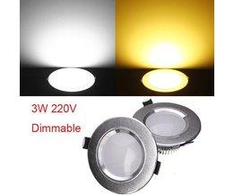 Deckeneinbau LED-Lampe 220V 3W
