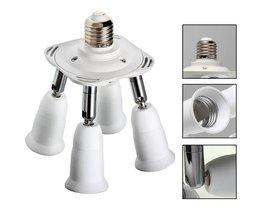 4 Spots Lampe Mit E27 Oder E14 Fitting