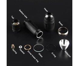 Taschenlampe Teile Eingestelltes
