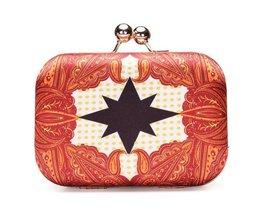 Retro Frauen-Clutch-Bag