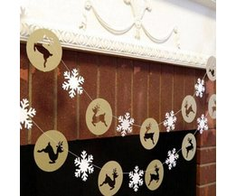 Hanger Weihnachten Mit Rentiere Und Schneeflocken