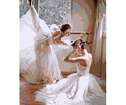 Anzahl Gemälde Ballerina