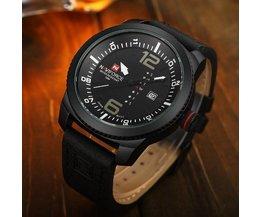 Navi Force-9063 Black Watch Für Männer