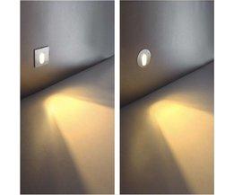 1W Runde LED-Einbauleuchte
