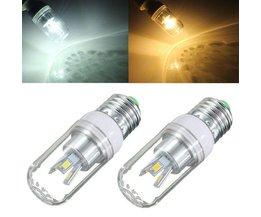 E27 180-300LM LED-Lampen-Weißes / Warmes Weiß 3W 85-265V