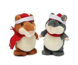 Plüsch-Hamster Runs Diskussion Weihnachten