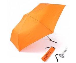 Regenschirm In Orange Oder Schwarz