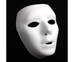 Weiße Maske Für Feste Wie Halloween