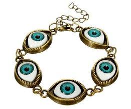 Unisex-Armband Mit Augen-Entwurf