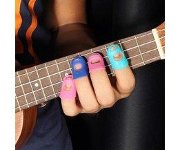 Fingertip Schutz Enthalten, Die Gitarre Oder Ukulele 4 Stück