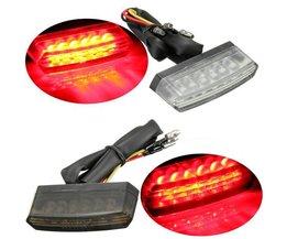 Kennzeichenleuchte Motor Rotes LED-Licht