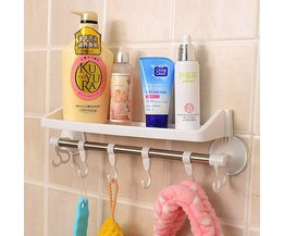 Kunststoff-Dusche-Rack In Zwei Farben