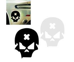 Schädel-Aufkleber Für Auto & Motorrad