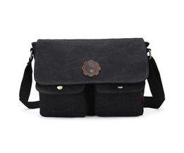 Retro Messenger Bag Für Männer