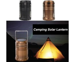 Camping Lampe Solar-LED USB-Batterien