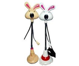 Mini-Webcam Mit Kaninchen-Entwurf