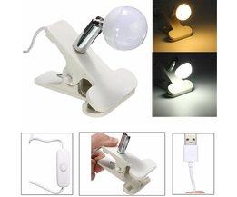 2W USB-LED-Lampe Mit Clip