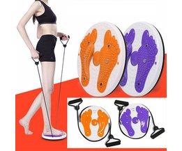 Fitnessgerät Mit Zugbänder Und Fußmassage