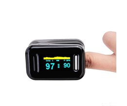 Praktische Pulsoximeter Mit OLED-Display