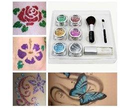 Glitter Tattoo Template-Paket