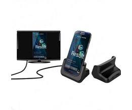 USB-Ladestation Mit HDMI Für Samsung S4