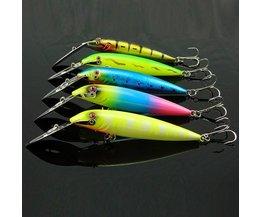 Fishhook Mit Köder Für Bass Fishing