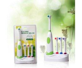 Elektrische Zahnbürste Auf Batterien 3 Extra-Bürsten