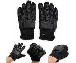 Jagd-Handschuhe In Schwarz Auch Für Airsoft