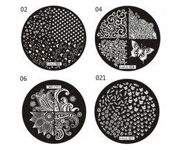 Stempelplatten Für Nägel