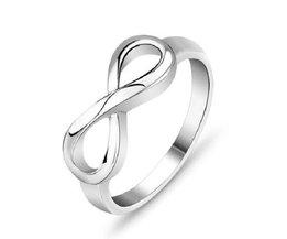 Silber Infinity-Ring 925 Sterlingsilber