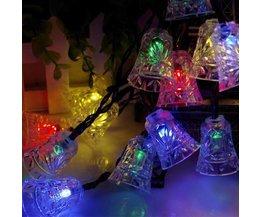 Solar-LED-Lichterkette Leuchtet