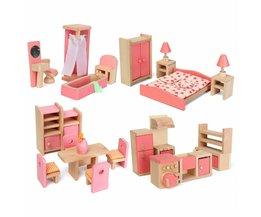 Puppenstuben-Set & Badezimmerschränke
