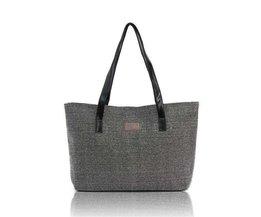 Canvas Shopper-Tasche