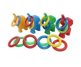 Kleinkind-Spielzeug Ringe Werfen Elefant