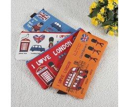 Netter I Love London-Fall-Leinwand