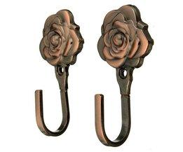 Kleidersänder Klammern In Der Form Einer Rose 2 Pieces