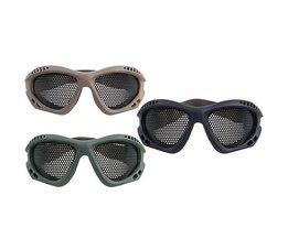 Schutzbrille Mit Gaze In 2 Farben