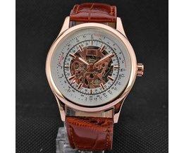 Forsining A708 Mechanische Uhr Rose-Gold-