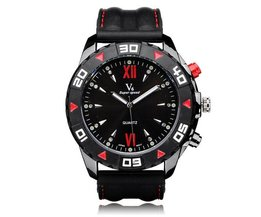 Uhr Mit Blau, Rot Oder Schwarz Dial