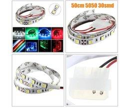 Flexible LED-Streifen In Mehreren Farben 50CM