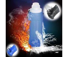 Zusammenklappbar Wasserflasche 500ML