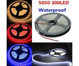 SMD 5050 LED Streifen 300 LED 5 Meter Wasserdicht