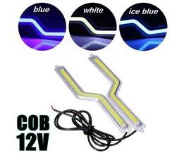 Tagfahrlicht COB Läuft LED-Streifen Z-Förmigen
