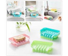 Moderne Seifenschale In Spaß Farben