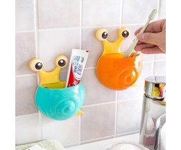 Für Behälter Toothbrushes In Form Einer Schnecke