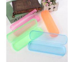 Kunststoff-Box Für Reisen Zahnbürsten