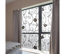 Home Fensterdekoration mit Blumen